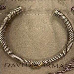 Gorgeous!! David Yurman X Cable Cuff!